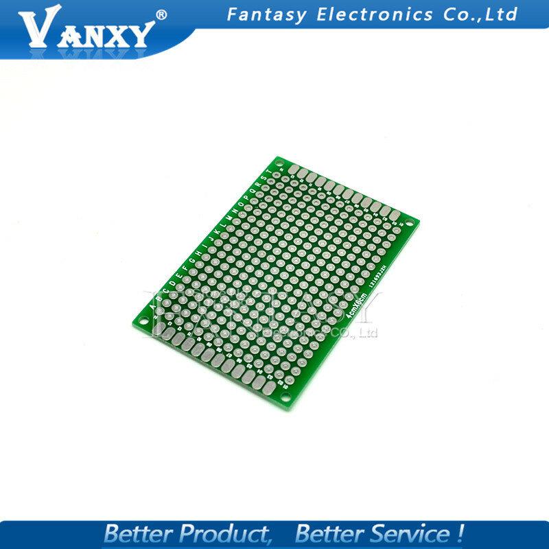 5 قطعة 4x6 سنتيمتر 4*6 مزدوجة الجانب النموذج PCB diy بها بنفسك العالمي مطبوعة لوحة دوائر كهربائية