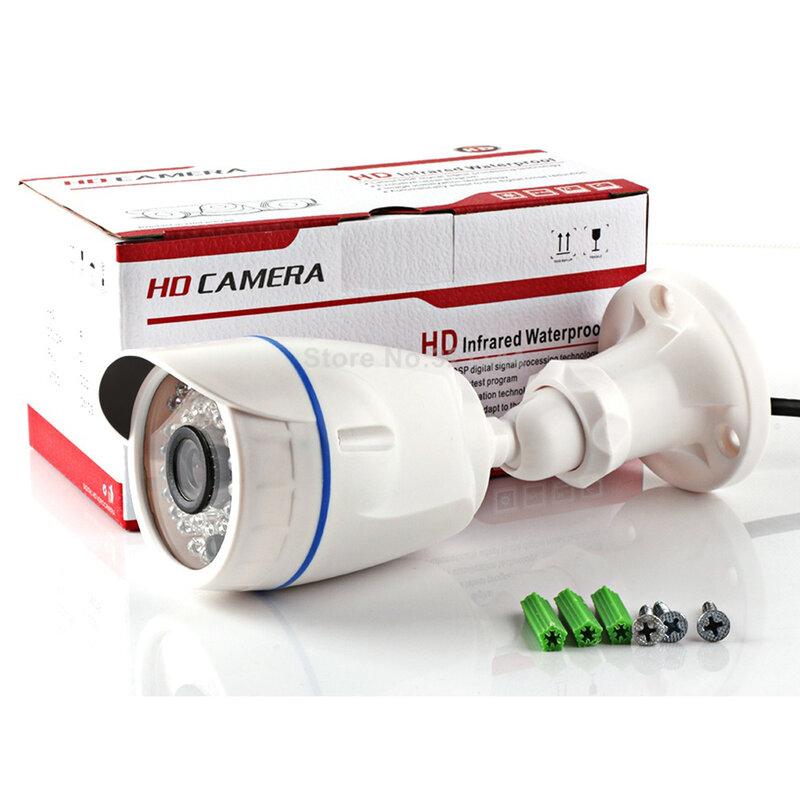 HD 720 P 1080 P Cctv-gewehrkugel Ip-kamera Im Freien Wasserdichte Nachtsicht 3,6mm Objektiv Überwachungskamera XMEYE POE Optional