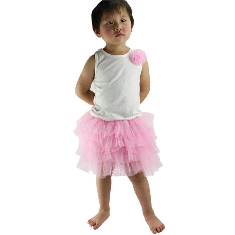Wennikidsเด็กสาวลูกอมสีครึ่งความยาวTulle Tutuกระโปรงเต้นรำน่ารักสีทึบแฟชั่นpettiskirt 3-8 ปี