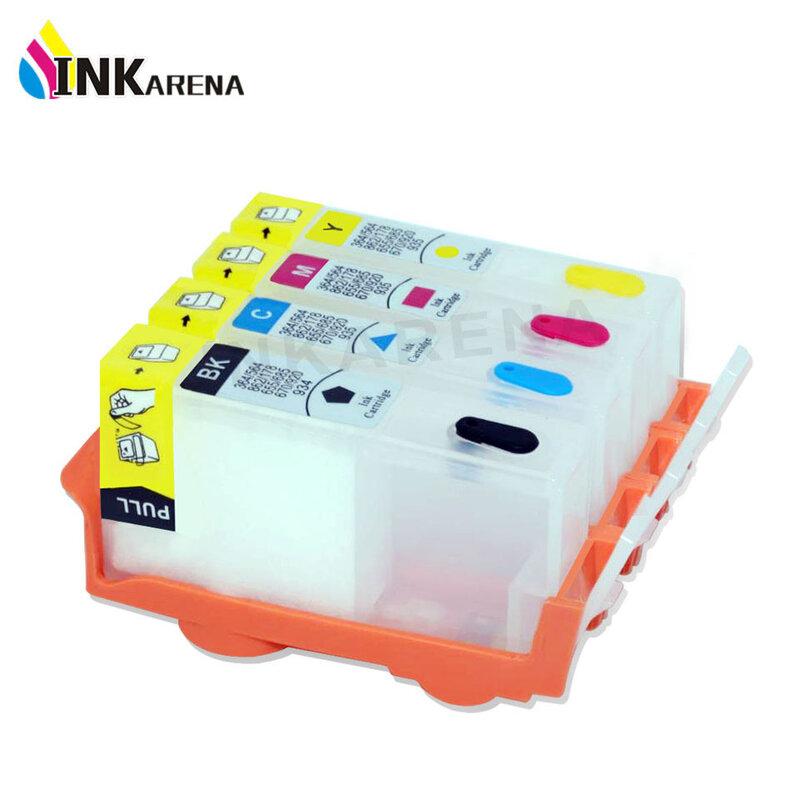 ตลับหมึกINKARENAตลับหมึกสำหรับHP 655 InkหมึกเติมสำหรับHP655 Deskjet Advantage 3525 4615 4625 5525 เครื่องพิมพ์ชิป