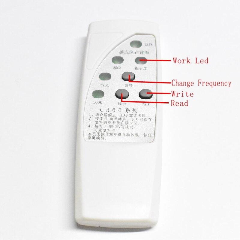 قارئ لنسخ الهوية بموجات الراديو معرف EM EM4305 T5577 كاتب قارئ + 10 قطعة EM4305 T5577 قاعدة مفاتيح قابلة للكتابة