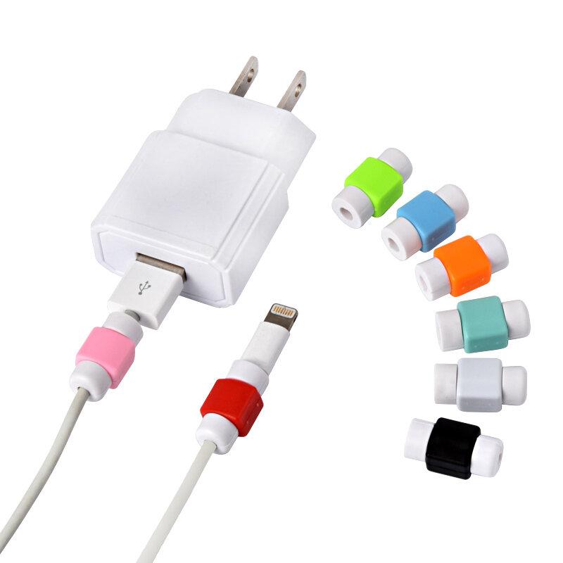 غطاء حماية خط البيانات ، لكابل الشحن ، الهاتف ، سماعة الرأس ، غلاف iPhone