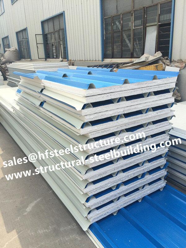 Begehbaren kühler platten verwendet in kühllager system und sandwich Pu polyurethan isoliert panel für supermarktkältespeicher