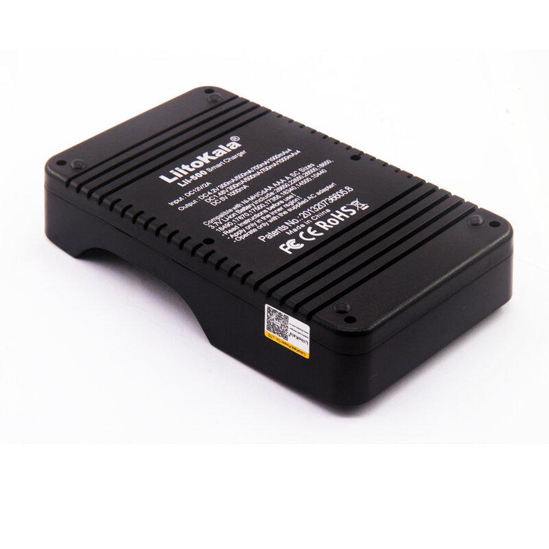 Liitokala Lii-500 LCD 3.7V/1.2V AA/AAA/ 18650/26650/16340/14500/10440/18500 แบตเตอรี่ชาร์จ + 12V2Aอะแดปเตอร์Lii-500