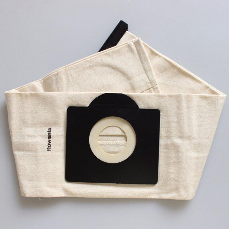 Sac à poussière lavable pour aspirateur, sac à poussière pour aspirateur Rowenta Karcher HR6675 nalaska fakir fif wirbel soteco