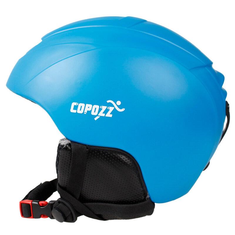 COPOZZ Ski Helm Integral geformten Snowboard Helm Männer Frauen Skating Skateboard Skifahren Helm Schneemobil Motorrad