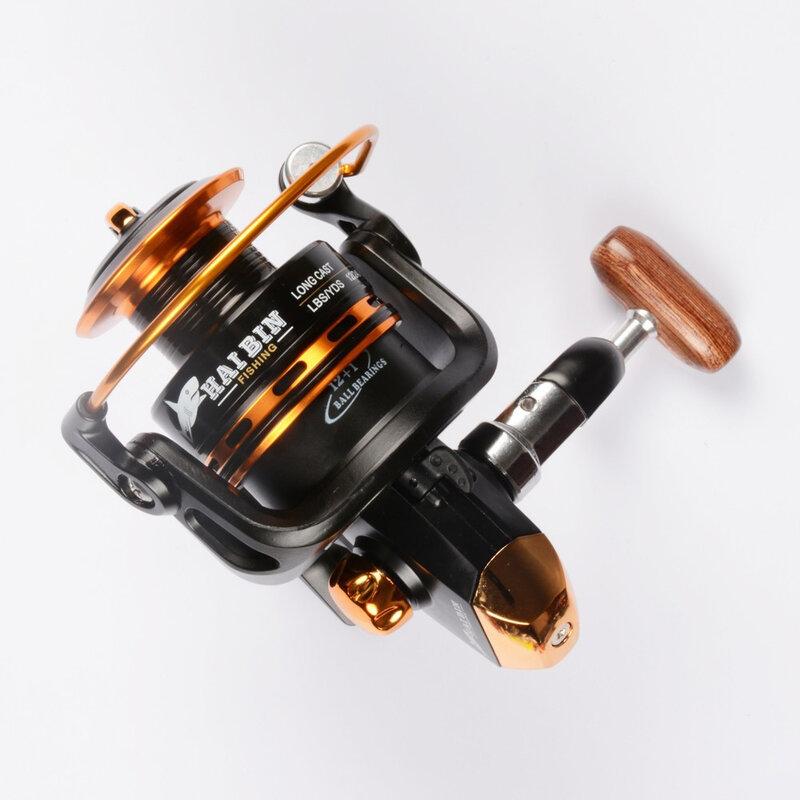 Moulinet de pêche à roulement 12 + 1, Super puissant, 5.5:1, pour la pêche à la carpe