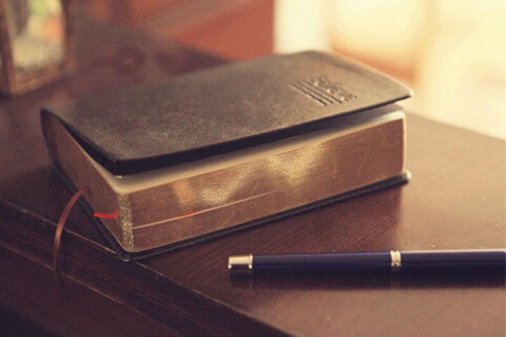 Carnet de notes en papier épais, idéal pour journal intime, bible, agenda vintage, fournitures de papeterie scolaire et de bureau