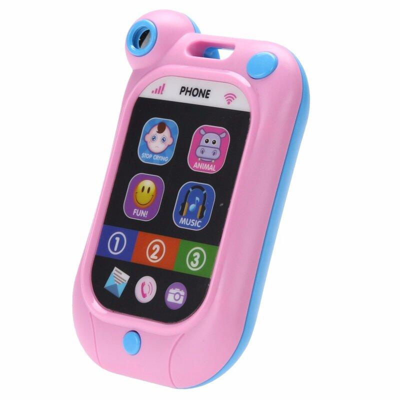 هاتف محمول موسيقي للأطفال ، لعبة تعليمية عالية الجودة ، هدية عيد ميلاد