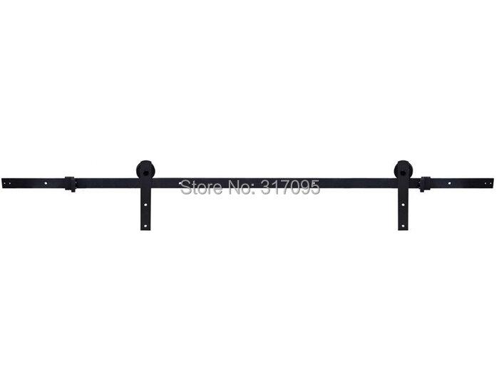 KIN MADE-أجهزة باب خشبي ريفي ريفي ريفي ، لباب الحظيرة الصلب ، للمنزل ، DIY ، 4 ، 1ft/5ft/5 ، 2 قدم/6 قدم/6.6 قدم/8 أقدام ، شحن مجاني