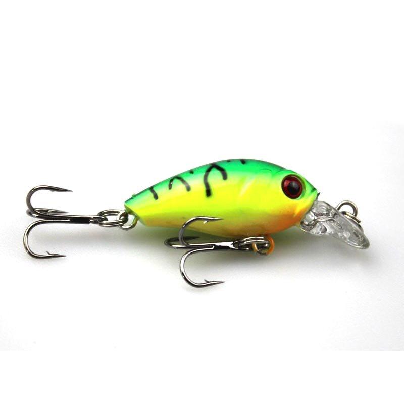 4,5 cm 4,2g Schwimmen Fisch Angeln Locken Künstliche Fest Crank Köder topwater Wobbler Japan Mini Angeln Crankbait locken