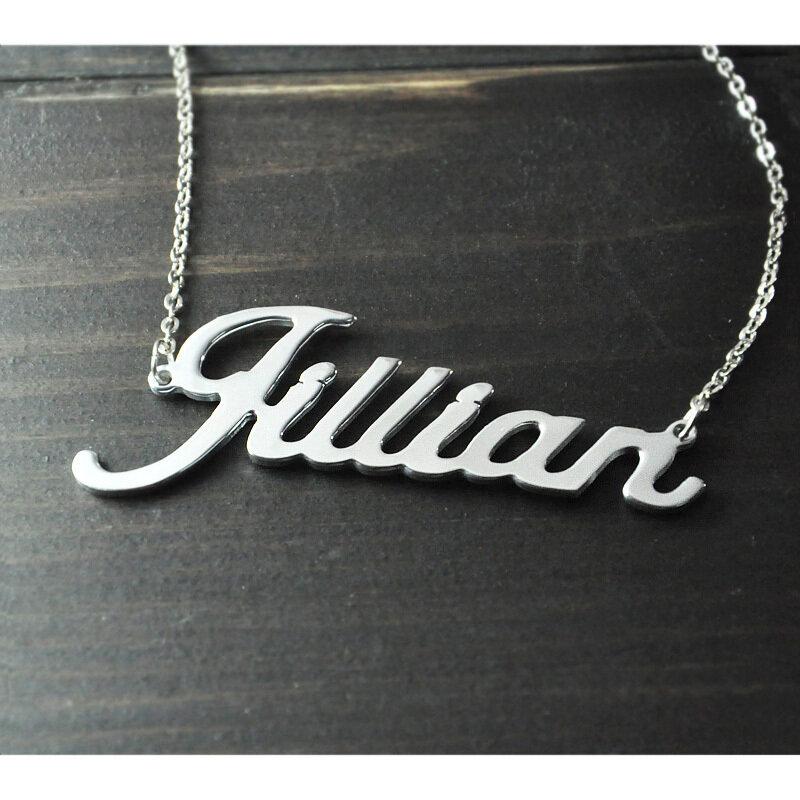 Qualsiasi Personalizzato Nome Collana del pendente della lega di Alison carattere affascinante ciondolo personalizzato nome collana Personalizzato collana