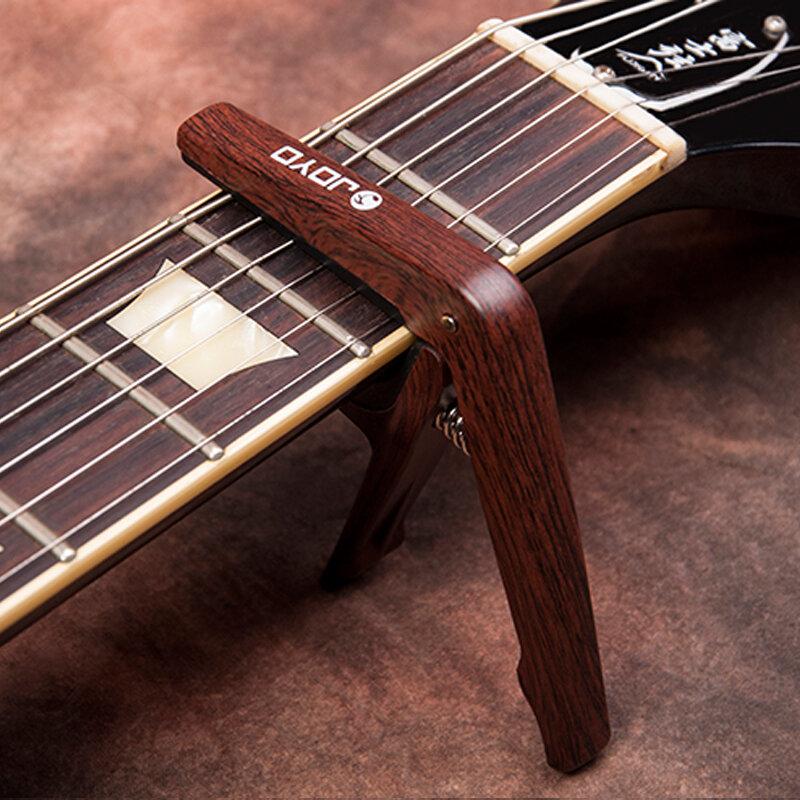 JOYO JCP-01 Colorato di Plastica Chitarra Capo per 6 String Chitarre Nero Argento di Legno colori con picconi guitarras Liberi la nave