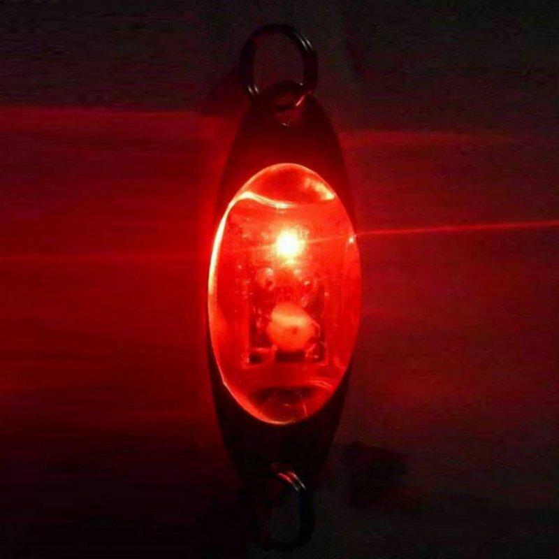 แฟลช6ซม./2.4นิ้ว LED Drop ลึกตกปลาปลาหมึกปลา
