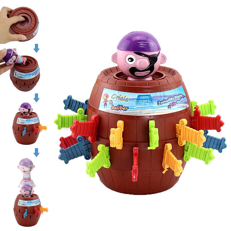 أداة لعبة برميل القراصنة المضحكة للأطفال ، لعبة جديدة وممتعة ، أداة نكات ، 2019
