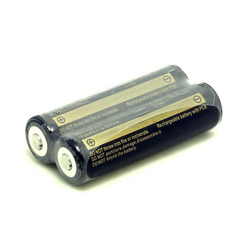 Tinhofire 2 قطع 18650 بطارية 3.7 فولت و 1 قطعة الكل في واحد شاحن ليثيوم أيون