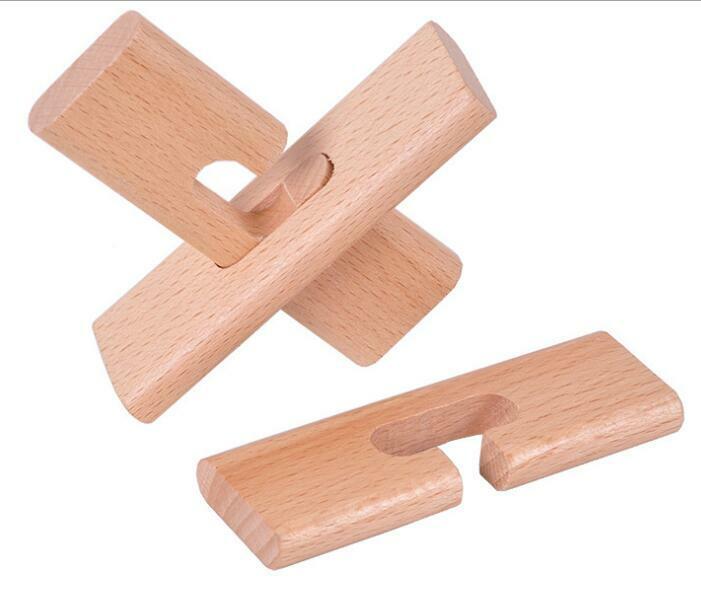 أحجية خشبية كلاسيكية للأطفال والكبار ، لعبة ألغاز خشبية كلاسيكية للأطفال والكبار