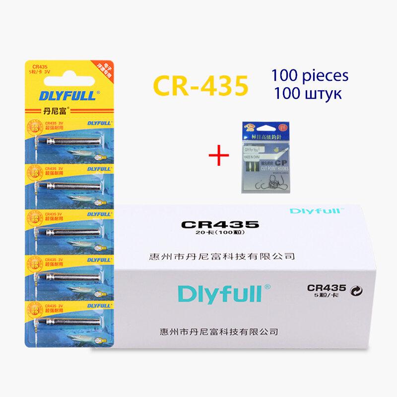 100ชิ้น/ล็อต DLY ZH CR311 CR316 CR322 CR416 CR420 CR425 CR435 Luminous ตกปลาเครื่องมือตกปลาทุ่นอุปกรณ์เสริม