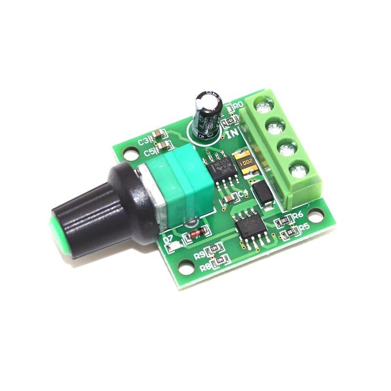 Dc 1 8 V 3v 5v 6v 12v 12v 2a Pwm Controlador De Velocidad Del Motor De Baja Tensión Interruptor De Control De Velocidad Del Motor Pwm Ajustable Módulo Regulador