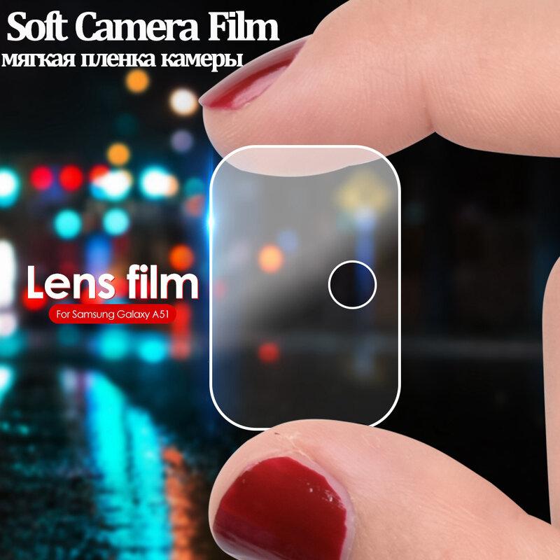 Protector de cristal para Samsung A51 Protector de pantalla de cristal para Samsung Galaxy A51 lente de la cámara de película en Sunsung 51 de vidrio templado