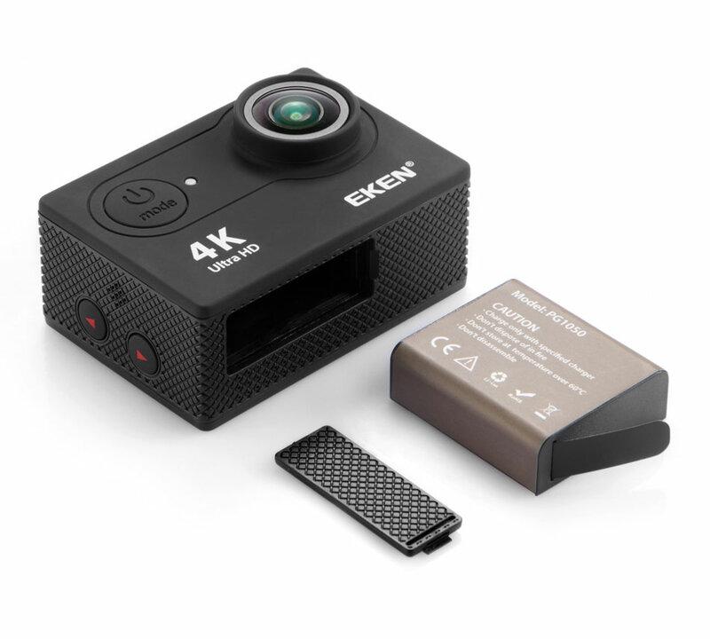 Eken — caméscope allant sous l'eau, nouvelle arrivage, caméra d'action, profondeur de 30 m, écran de 2 pouces, 1080p, vidéo de sport, go pro, extrême, 4K, H9R/H9