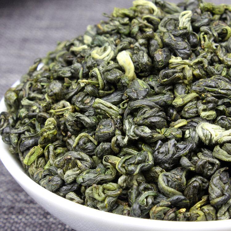 الصين ارتفاع الفم بي لو تشون الشاي فقدان الوزن منعش الصينية شاي أخضر عضوي عالية موتين يونو بي لو تشون الشاي