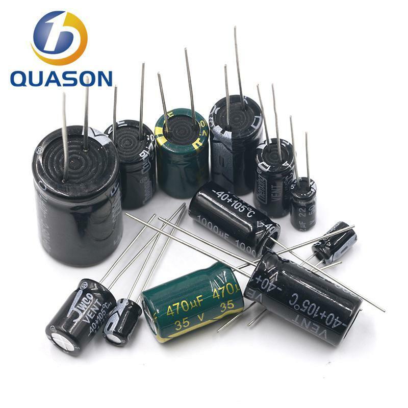 20pcs 100V 100 미크로포맷 10*17mm 알루미늄 전해 커패시터 10X17mm