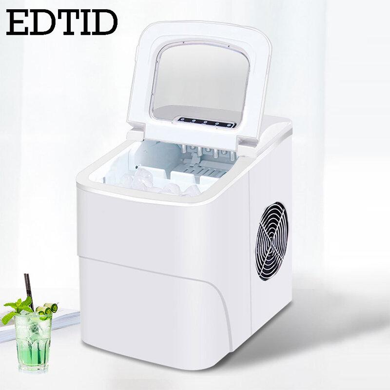 Tragbare Automatische Elektrische Ice Cube Maker Mini Quadratische Form Kugel Zylindrischen Eis, Der Maschine 20kg/24H Hause bar Kaffee Shop