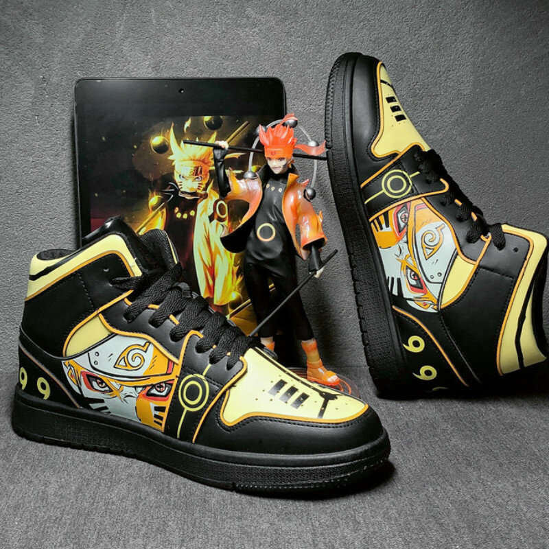 Chaussures de course montantes pour hommes, baskets classiques et tendance, style Hip-Hop, pour voyage et course à pied