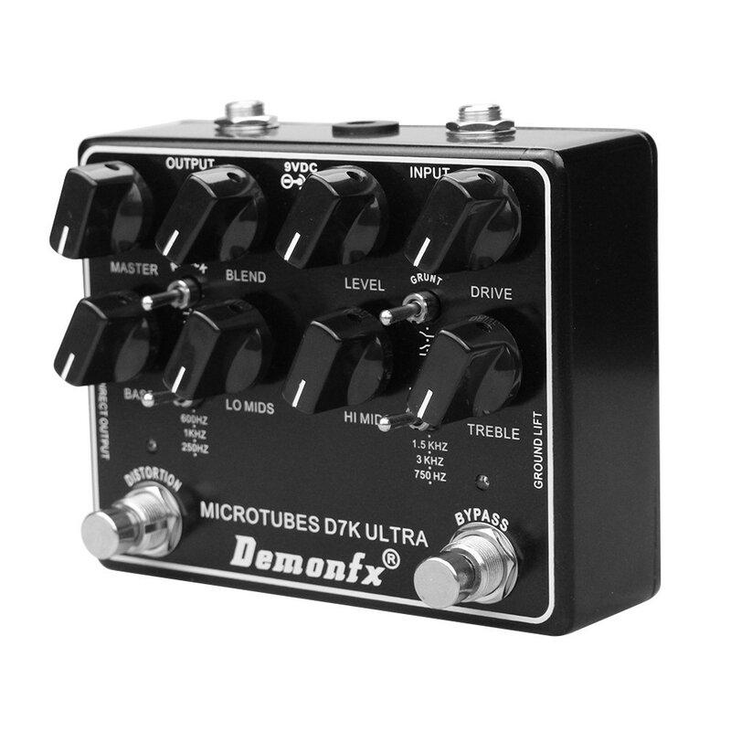 Klon Darkglass Mikro-r Öhrchen D7K Ultra V2 Bass Preamp Pedal -Demonfx D7K ULTRA