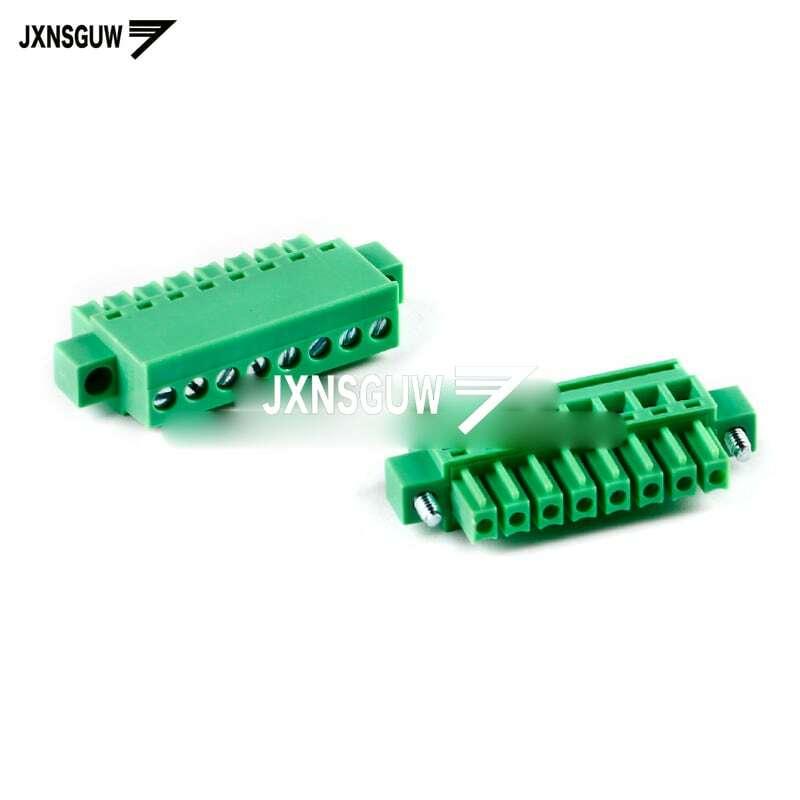 5PCS KF2EDGKAM-3.81-2P 3P 4P 5P 6P 8P 수직 플러그 3.81mm 간격 터미널 블록 PCB 커넥터 플러그인 단자 블록