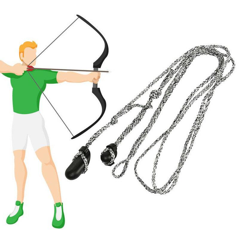 Tiro con l'arco ricurvo Bowstring installa strumento corda corda arco lungo Stringer String Hunter attrezzatura da caccia