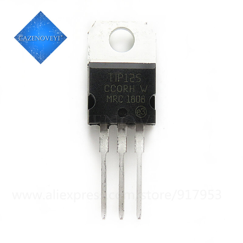 10pcs/lot TIP125 125 TO-220 In Stock
