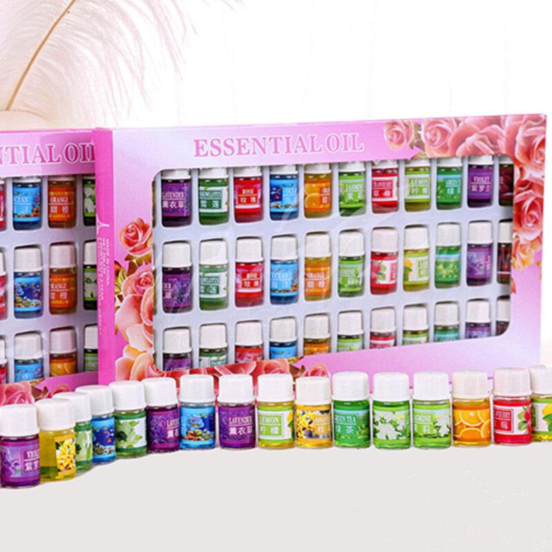 36 flaschen/set Ätherisches Öl Für Diffusor Aromatherapie Öl Luftbefeuchter 12 Art 3ML Duft Aromatherapie Öl Natürliche Spa öl