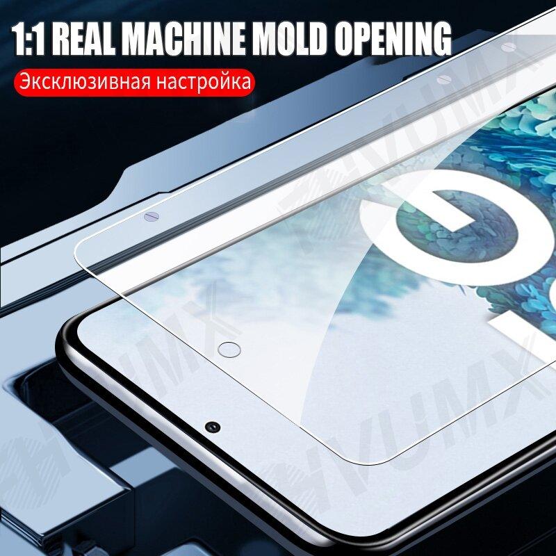 9D ป้องกันแก้วสำหรับ Samsung Galaxy A02 A12 A32 A42 A52 A72 F41 F62ป้องกันหน้าจอ M02 M12 M01 m11 M21 M31 M51แก้ว