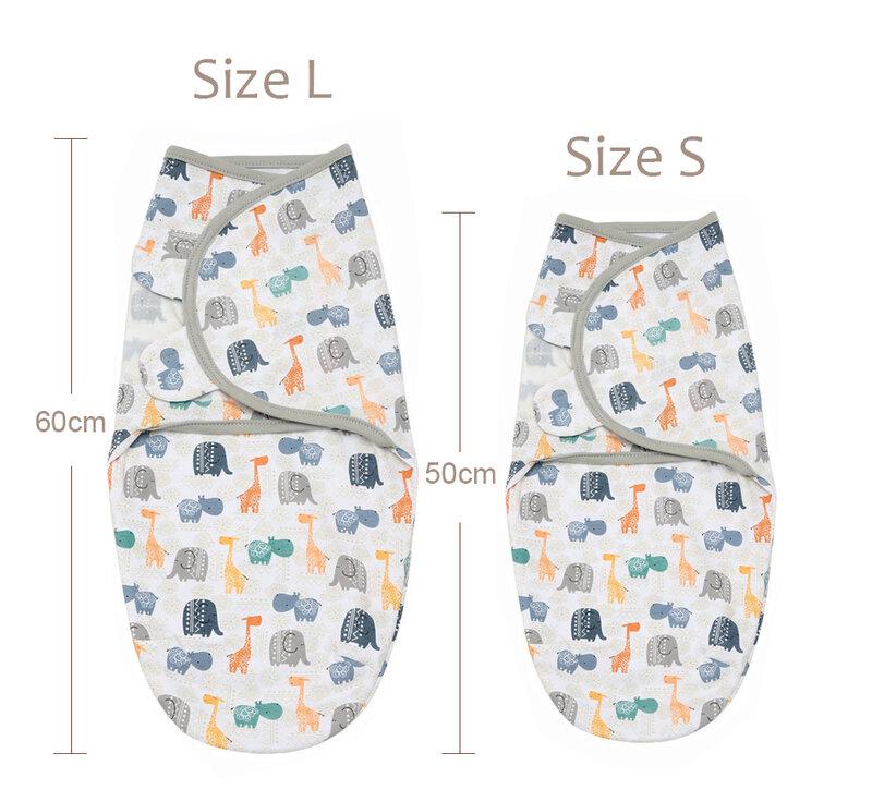 Pañales similares a Swaddleme, algodón orgánico de verano, parisarc, envoltura para bebé, saco de dormir