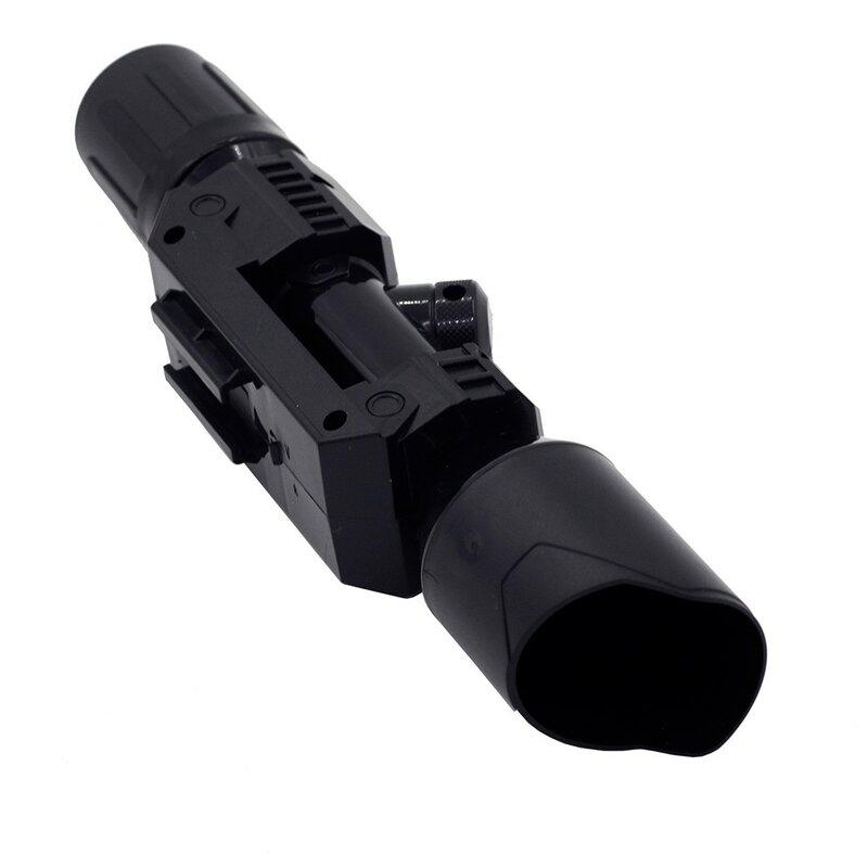 Soft bullet Gun Sight accessori universali per Nerf compatibile Soft Bullet Assembly Parts dispositivo di avvistamento del tubo per Nerf Elite