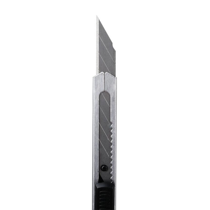 Alta qualità 30 gradi punta della lama lama di rasoio coltello affilato portatile Mini auto-blocco utilità coltello in acciaio inox taglierina di arte fai da te