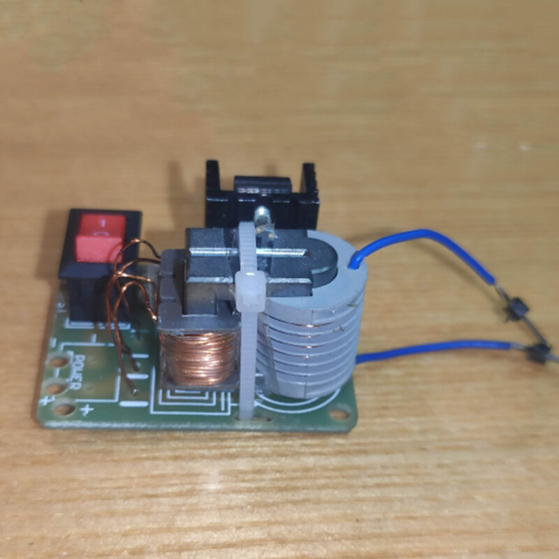 15KV مولد جهد كهربائي عالي الفوليتية لتقوم بها بنفسك عدة قوس الإشعال لفائف وحدة محول التردد العالي لتقوم بها بنفسك العاكس خطوة تعزيز محول Sui