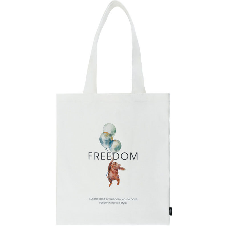 Sevilinlu literackie płócienna torba na ramię damska torba na zakupy torba na zakupy kobiet duża pojemność bawełniane, w stylu Harajuku torebki