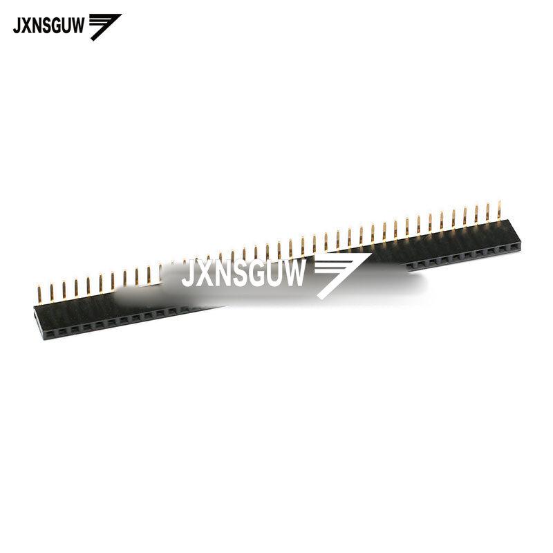 싱글/더블 로우 암 시트 (곡선 바늘/발) 행 시트 소켓 간격 2.54MM 1*40P 2*40P, 5 개