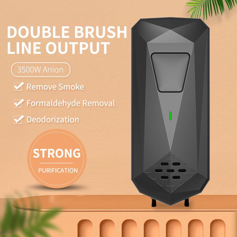 Cornmi Mini purificatore d'aria deodorante ionizzatore deodorante filtro aria sensore di movimento luce per animali domestici fumo toilette