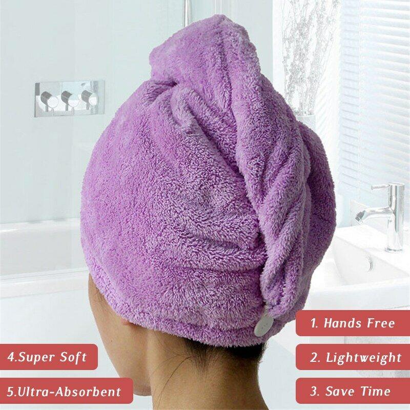 GIANTEX 여성 타월 욕실 마이크로 화이버 타올 신속한 건조 헤어 타올 성인용 목욕 타월 toallas microfibra toalha de banho