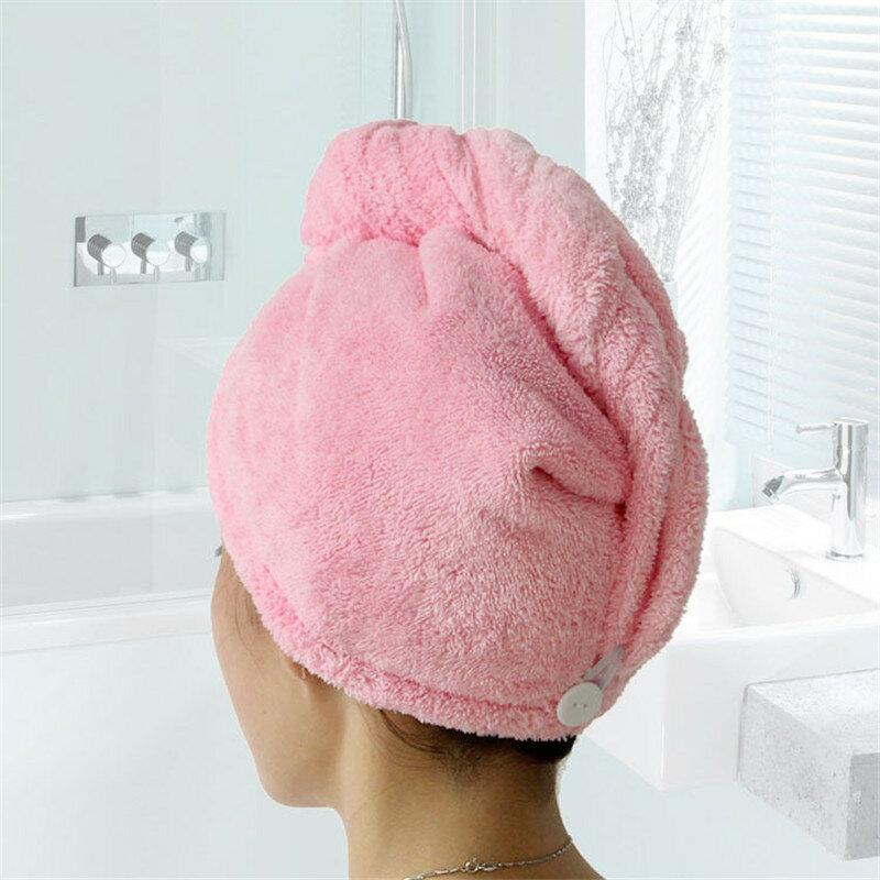 GIANTEX-toallas de baño de microfibra para mujer, paño de secado rápido para el cabello, para adultos