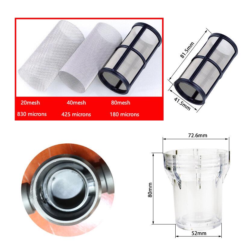 1/2 ''3/4'' 1'' garten Bewässerung Filter Kunststoff Bewässerung System Verunreinigung Vorfilter Aquakultur Haushalt Wasser Rohr Filter