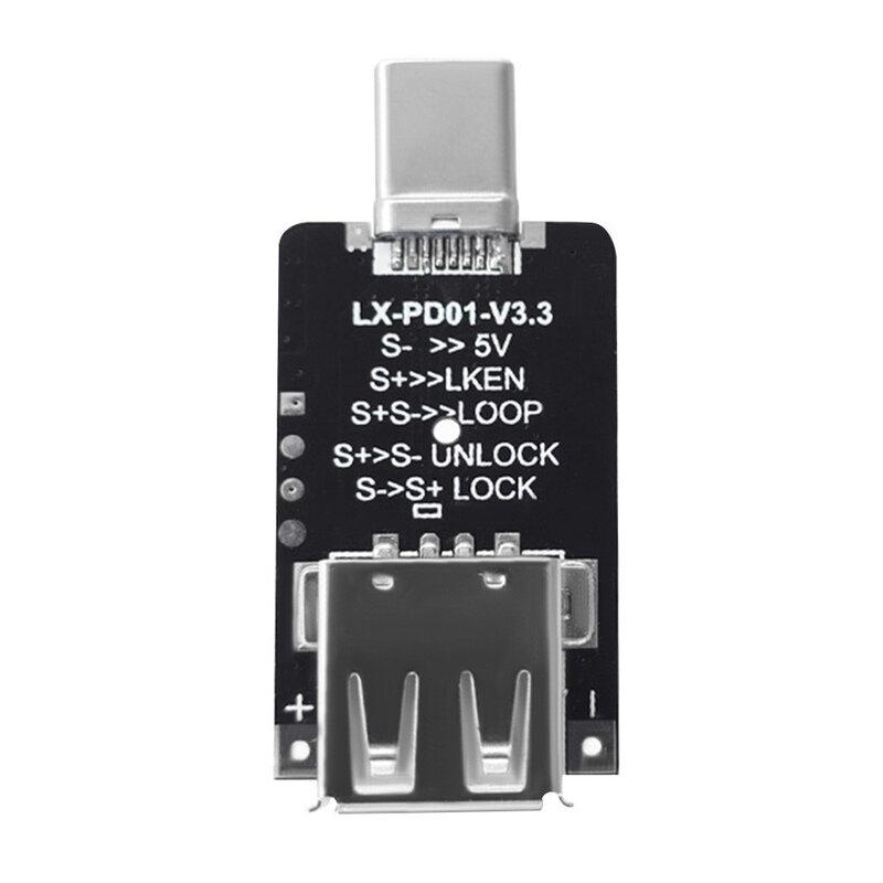 100 واط 5A USB Type-C PD شرك الزناد مجلس 5 فولت 9 فولت 12 فولت 15 فولت 20 فولت الناتج PD 2.0 3.0 الزناد كابل محول اتصال كاشف الاقتراع