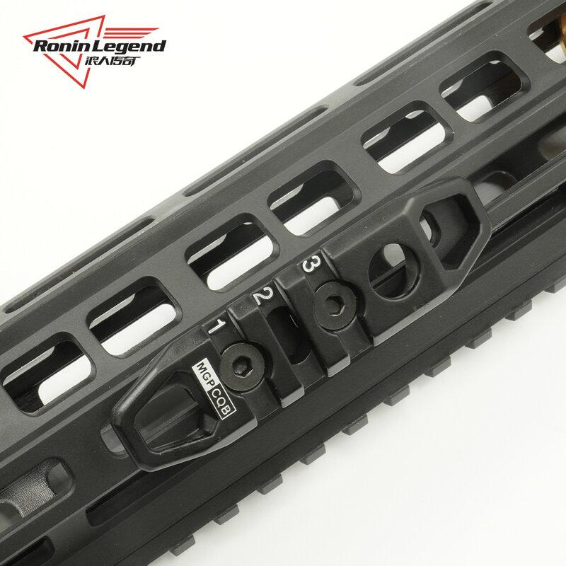 Hollow M-LOK/keymod rail sezione 3 7 11 picatinny rail accessori slot sezioni caccia accessori tattici Hot consiglia