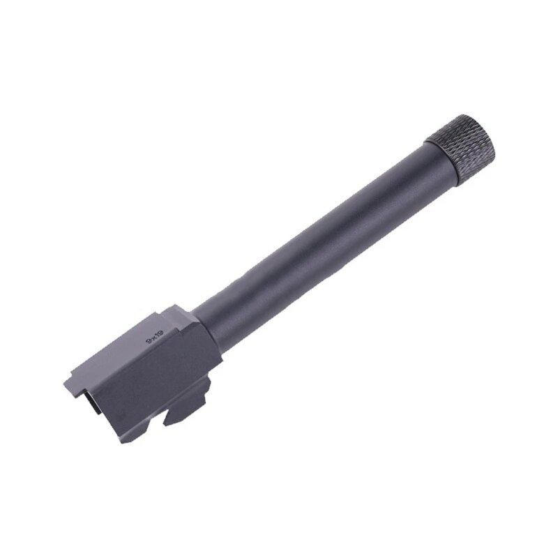 GLOCK G17 filettatura esterna P1 filetto inverso manicotto esterno alluminio CNC tubo interno barilotto esterno per accessori Paintball GL17 P1