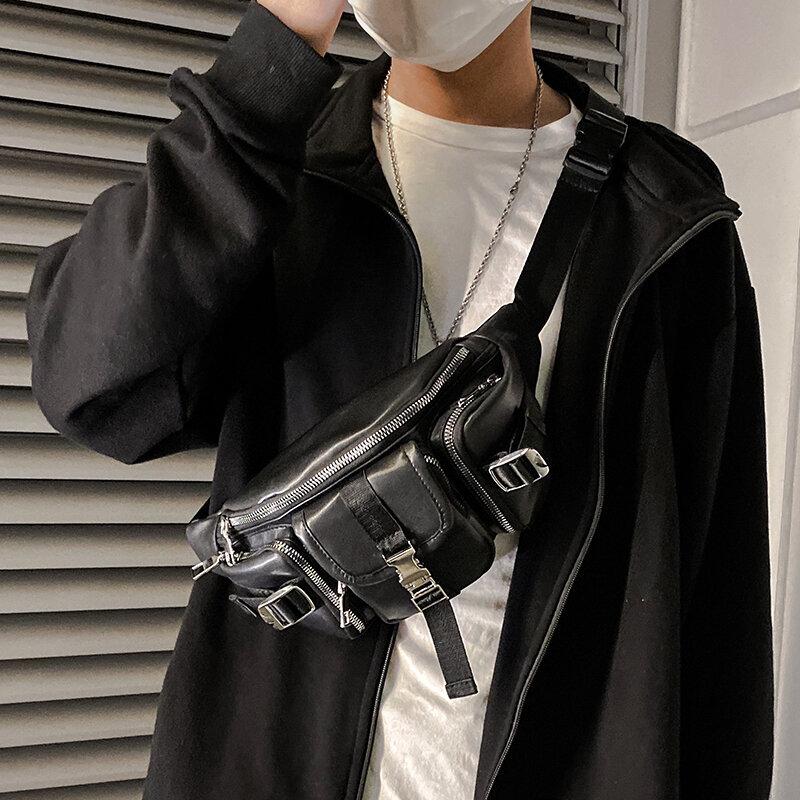 Tidog Flut persönlichkeit mode tilt über die außen brust tasche