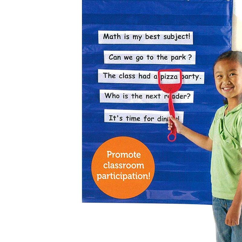 학습 자료 홈 스케줄링 교실 PR 판매를위한 표준 포켓 차트 교육